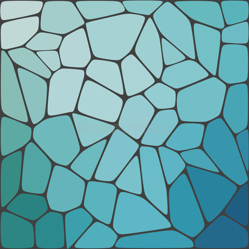 Fondo colorido del mosaico abstracto del vector stock de ilustración