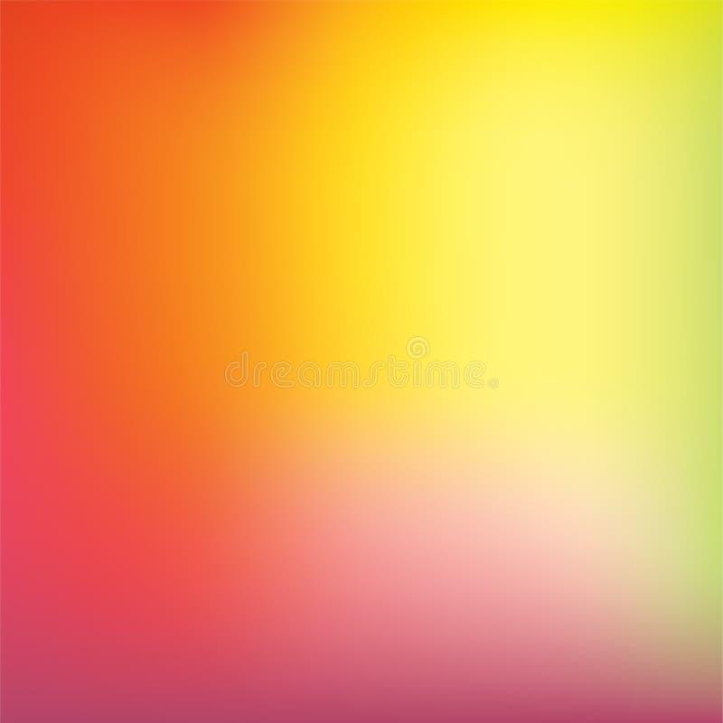 Fondo colorido del vector de la pendiente ilustración del vector