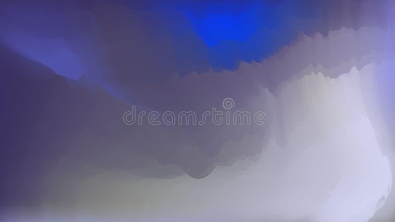 Fondo colorido del vector de la pendiente, sombras del azul, con huecos libre illustration