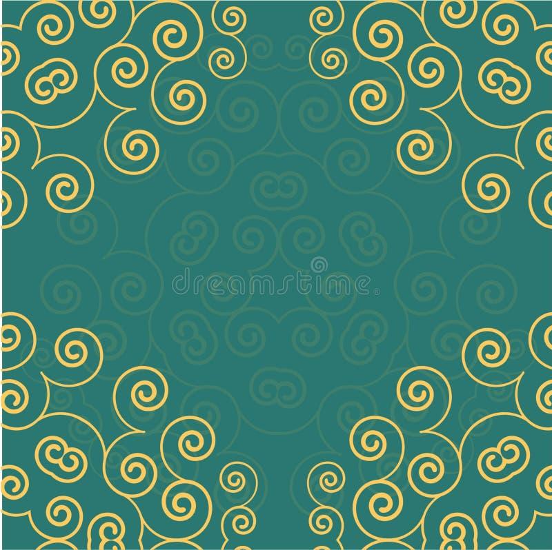 Fondo colorido EPS 10 de los círculos stock de ilustración