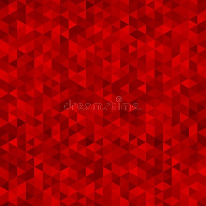 Fondo colorido rojo abstracto del vector libre illustration
