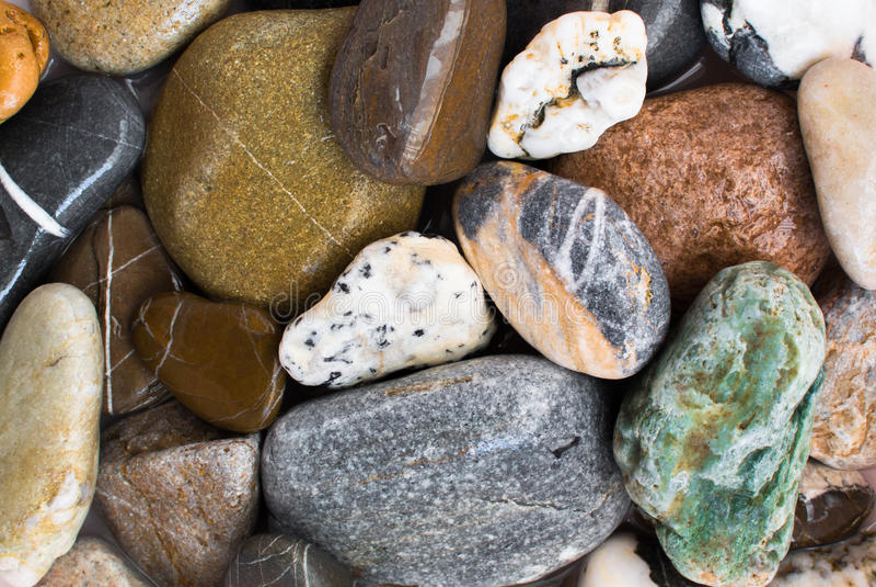 Fondo Colourful delle pietre fotografie stock libere da diritti