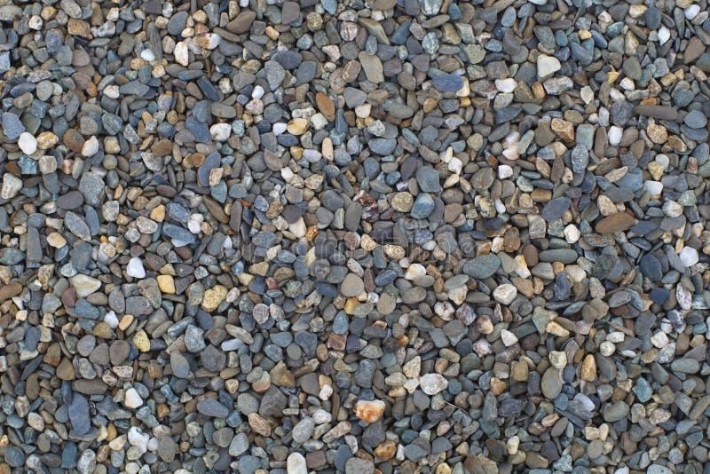Fondo completo de la piedra del marco de la roca de la textura de la grava gris del modelo imagen de archivo libre de regalías