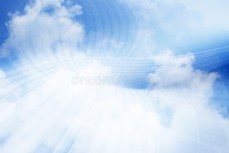 Fondo computacional del concepto de la nube fotos de archivo libres de regalías