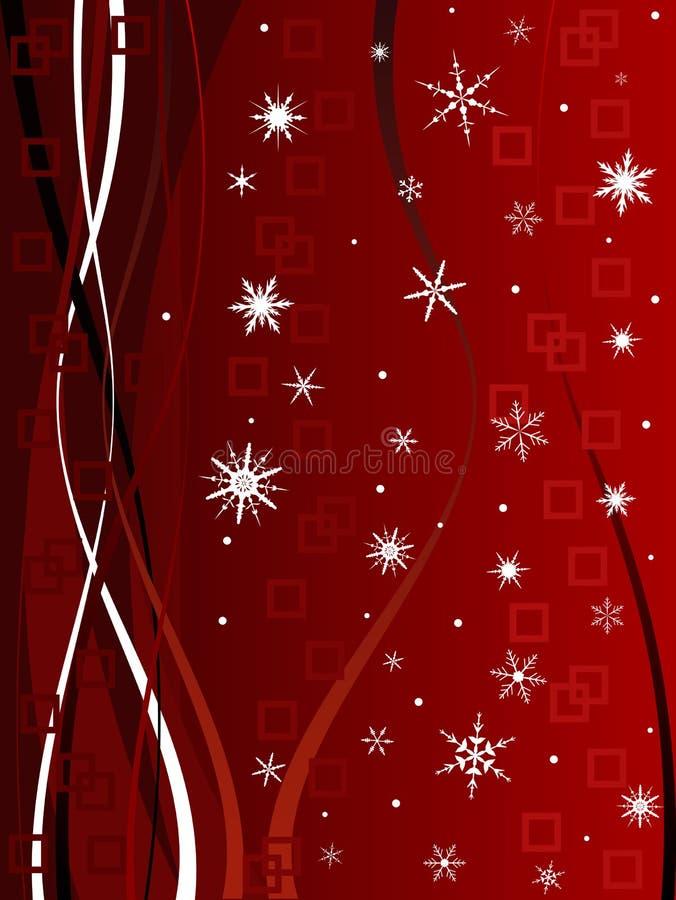 Fondo con clase 5 de la Navidad libre illustration