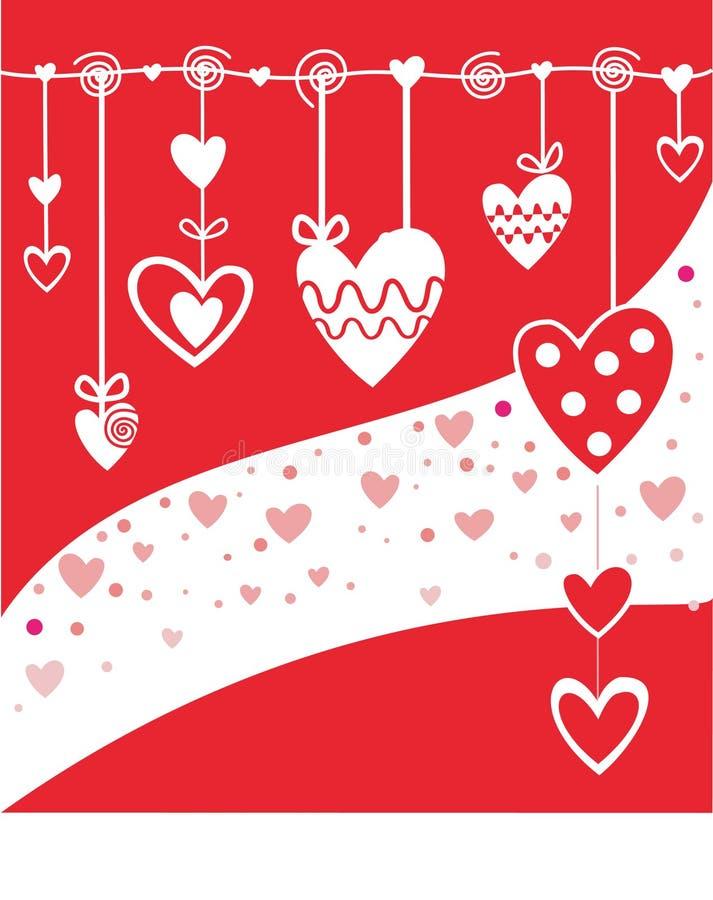 Fondo con el corazón libre illustration