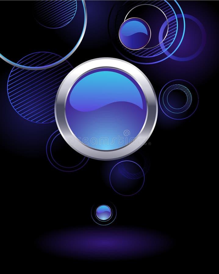 Download Fondo Con I Cerchi Astratti Immagine Stock - Immagine di leggerezza, concetto: 30829197