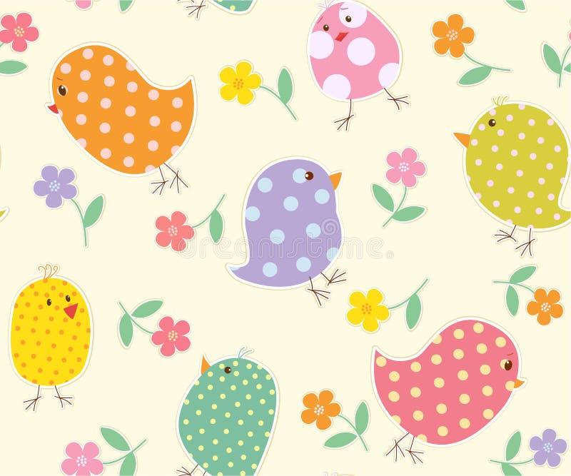 Download Fondo Con L'uccellino Implume Fotografia Stock - Immagine di polka, puntini: 30832112