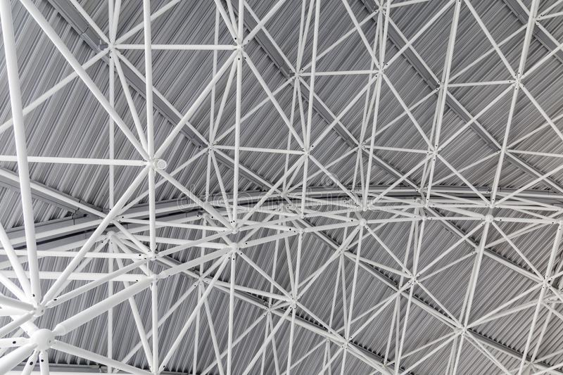 Fondo con la estructura de acero imagen de archivo