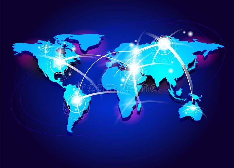 Concetto di connettività illustrazione di stock