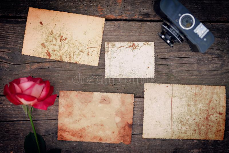 Fondo con la textura de la foto vieja del grunge fotografía de archivo libre de regalías