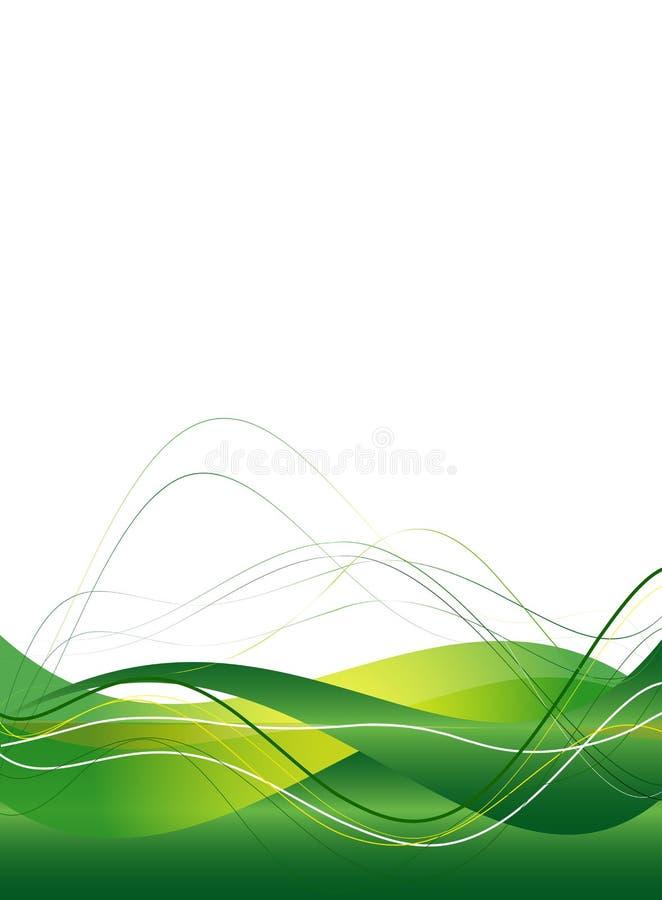 Fondo con las líneas lisas abstractas libre illustration