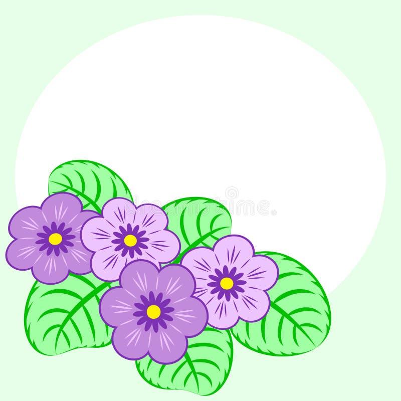 Fondo de las primaveras ilustración del vector