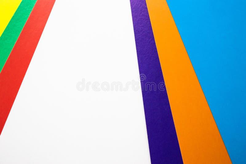 Fondo con las rayas coloreadas Primer Textura del fondo Hay un lugar para su texto fotos de archivo
