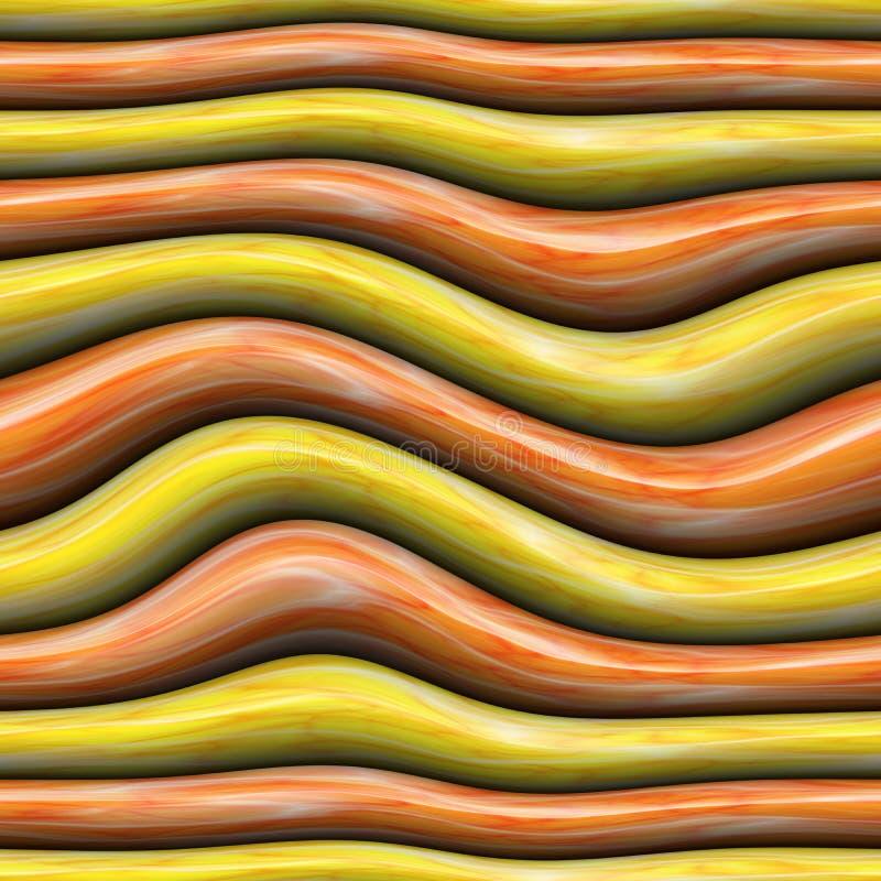 Fondo con le bande curve astratte di colore immagini stock