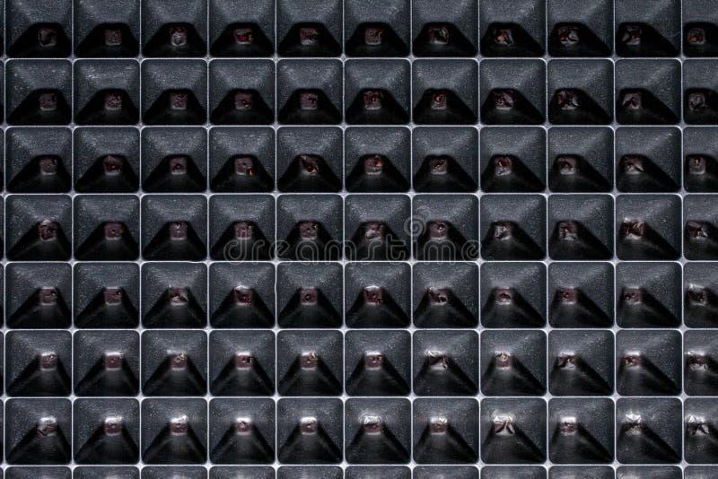 Fondo con le forme geometriche di forma astratta fotografie stock libere da diritti