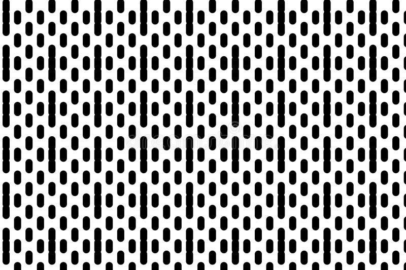 Fondo con le linee Effetto di semitono Pendenza di Digital Minimalistic, stantio dinamico Illustrazione in bianco e nero di vetto royalty illustrazione gratis