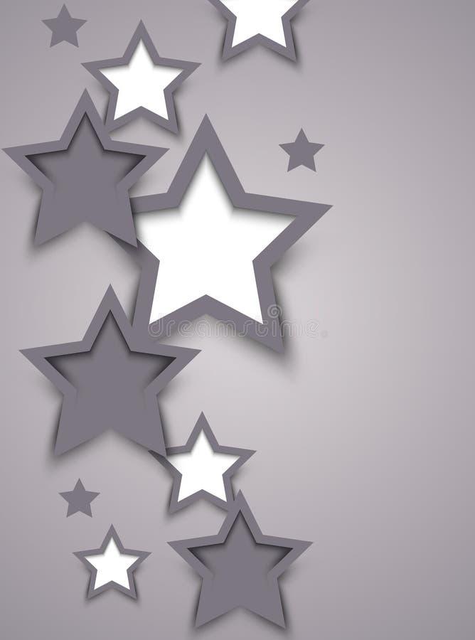 Sottragga il fondo con le stelle illustrazione vettoriale