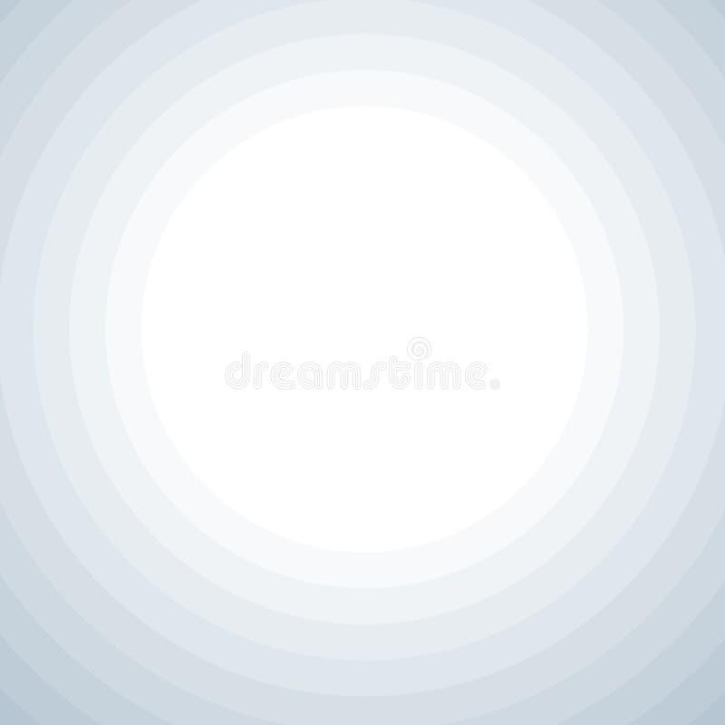 Fondo con los c?rculos grises ilustración del vector