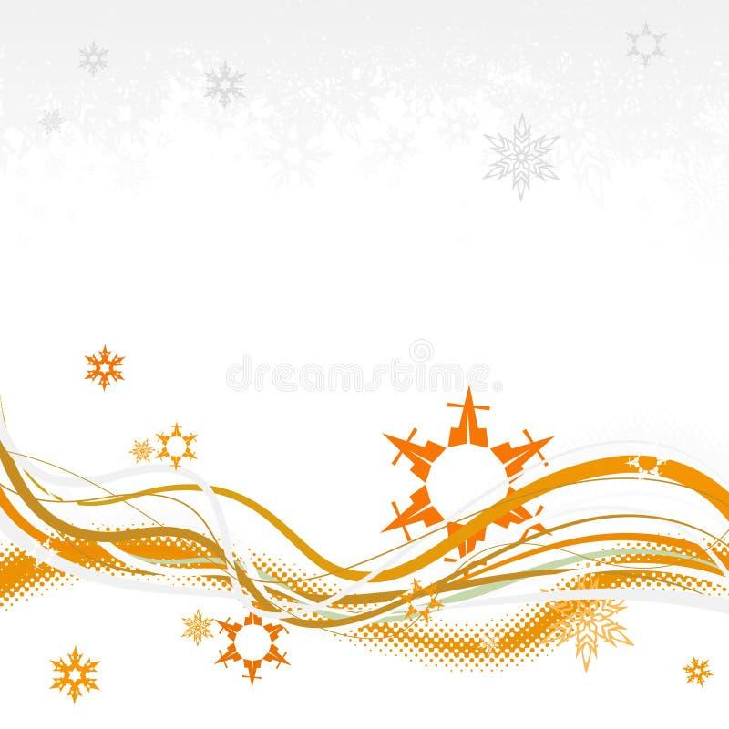 Download Fondo Con Los Copos De Nieve. Vector Ilustración del Vector - Ilustración de gráfico, ilustración: 7282220
