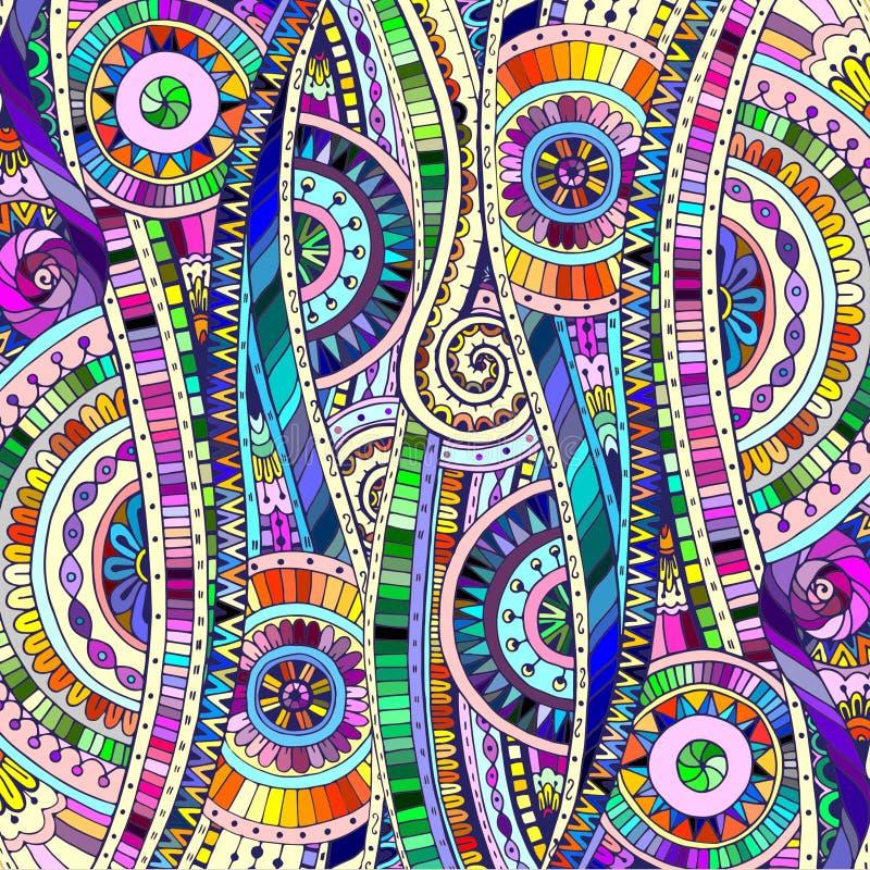 Fondo con los elementos geométricos del mosaico libre illustration