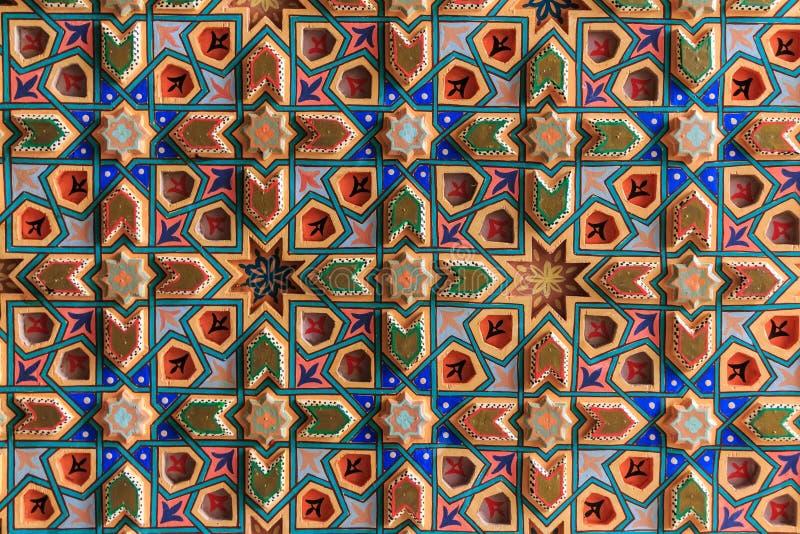 Fondo con los ornamentos orientales imagen de archivo libre de regalías
