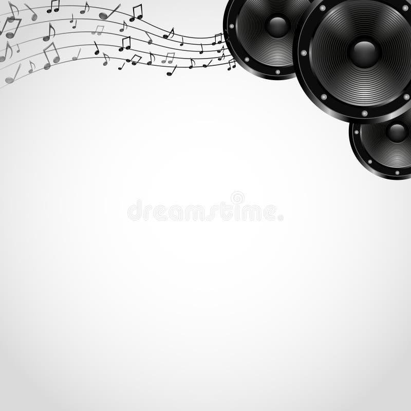 Fondo con los Presidentes - vector de la música libre illustration