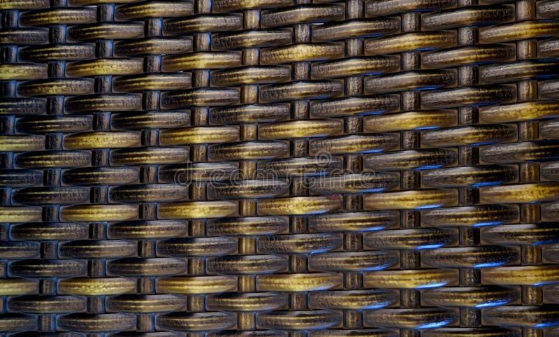 Fondo con los tallos de bamb? tejidos fotos de archivo libres de regalías