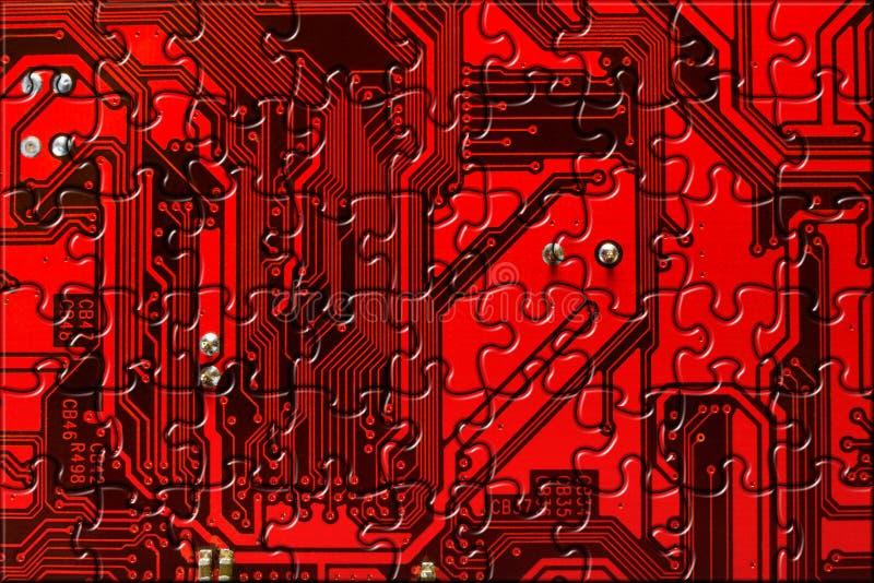 Fondo conceptual del ordenador ilustración del vector