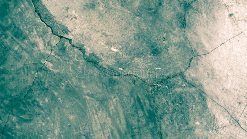 Fondo concreto crudo, color de tono azul fotos de archivo