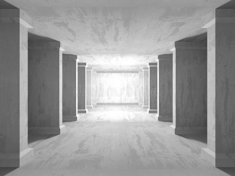 Fondo concreto geométrico abstracto de la arquitectura fotos de archivo libres de regalías