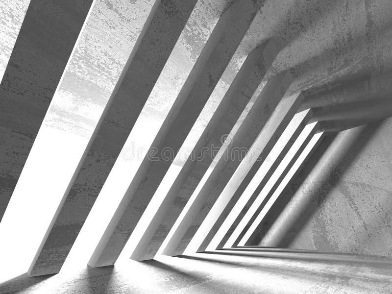 Fondo concreto geométrico abstracto de la arquitectura fotografía de archivo