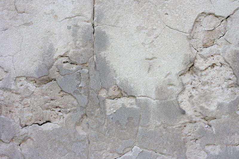 Fondo concreto grigio di struttura di lerciume dell'estratto Immagine morbida del fuoco immagine stock
