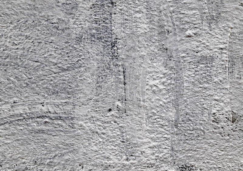 Fondo concreto grigio di strutture danni Priorit? bassa incrinata della parete di pietra fotografia stock libera da diritti