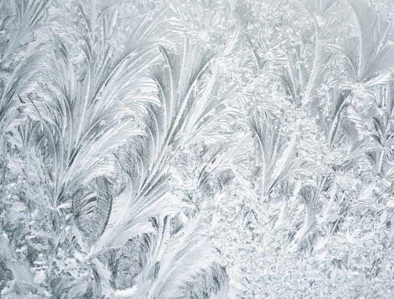 Fondo congelado de la ventana imagen de archivo