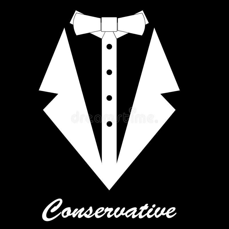 Fondo conservador ilustración del vector