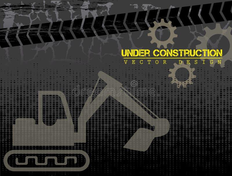 Fondo in costruzione illustrazione di stock