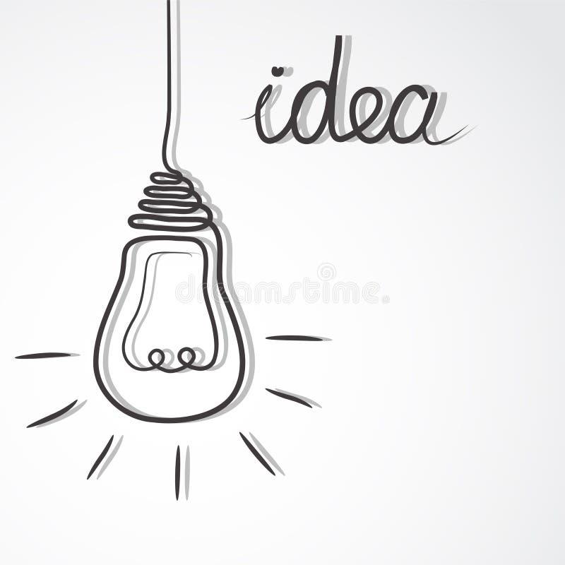 Fondo creativo astratto di concetto Illustrazione di vettore illustrazione vettoriale