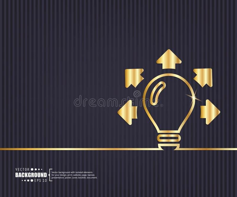 Fondo creativo astratto di vettore di concetto Per le applicazioni del cellulare e di web, progettazione del modello dell'illustr royalty illustrazione gratis