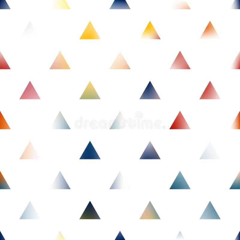 Fondo creativo de los triángulos del arte abstracto ilustración del vector