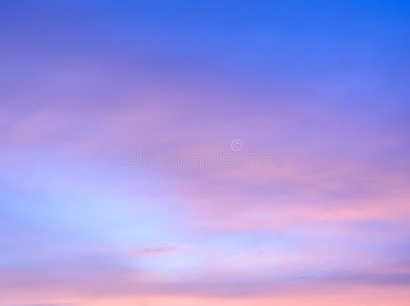 Fondo crepuscular abstracto del cielo imágenes de archivo libres de regalías