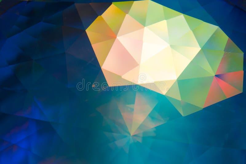 Fondo cristalino abstracto fotografía de archivo libre de regalías