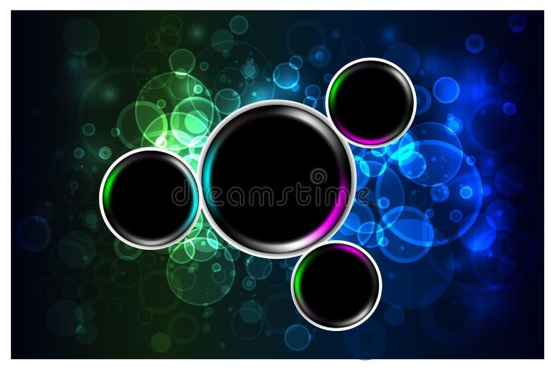 Fondo cristalino de la iluminación imagen de archivo libre de regalías