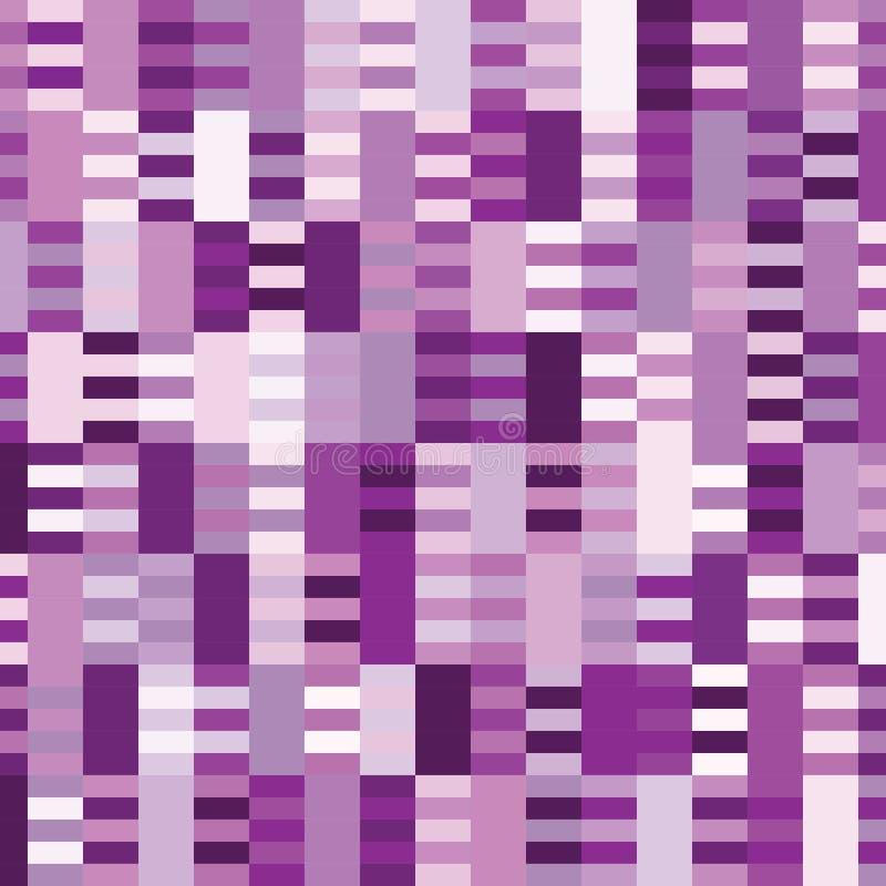 Fondo cuadrado del modelo púrpura del tono libre illustration