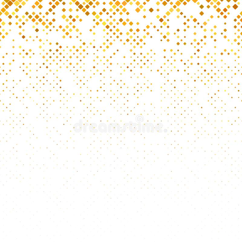 Fondo cuadrado redondeado geométrico abstracto del modelo con los cuadrados en tamaños diversos ilustración del vector