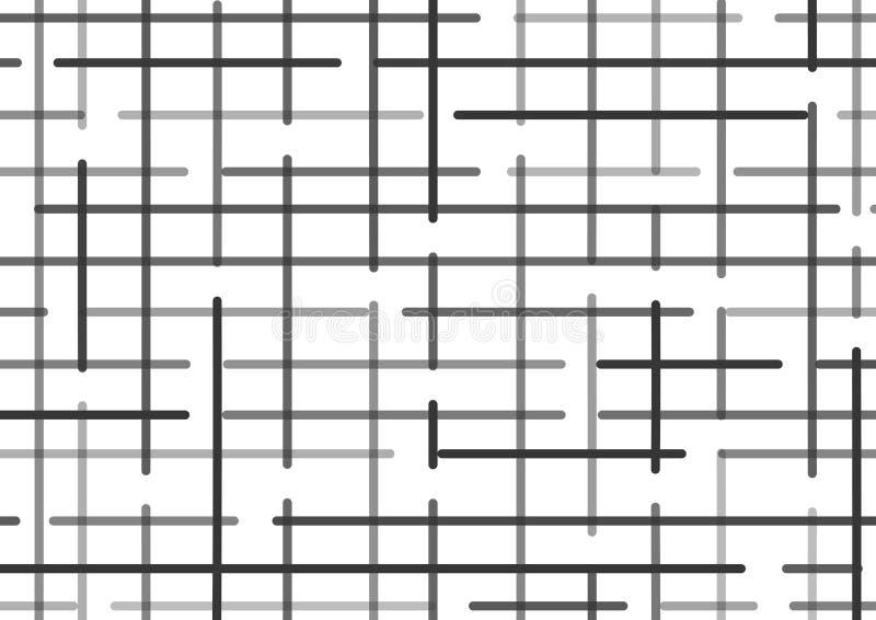 Fondo a cuadros con las líneas negras Vector libre illustration