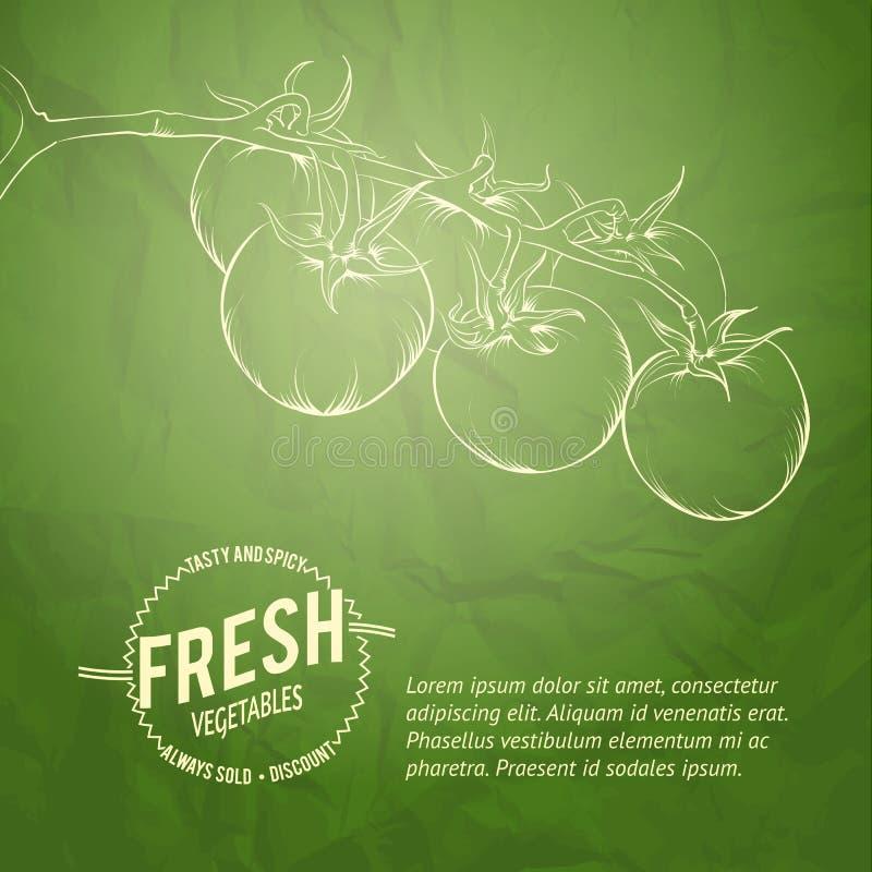Fondo culinario della copertura. illustrazione di stock