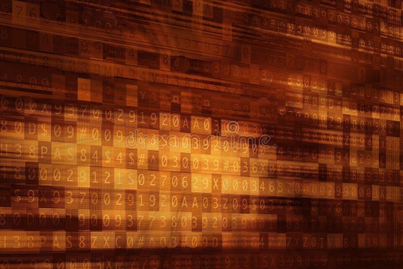 Fondo cyber illustrazione vettoriale