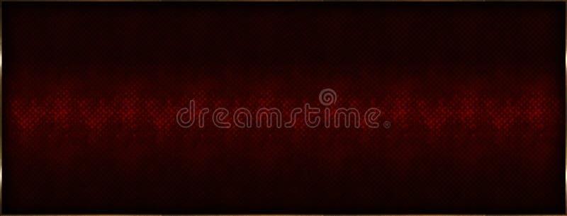 Fondo d'annata decorativo dell'illustrazione immagine stock