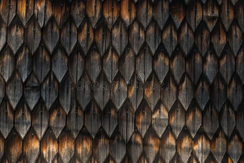 Fondo d'annata della parete di vecchia struttura di legno composita fotografia stock libera da diritti